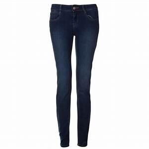 Womens Navy Blue Skinny Jeans