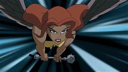 Hawkgirl Animated Dc Justice League Wonderwoman Canary
