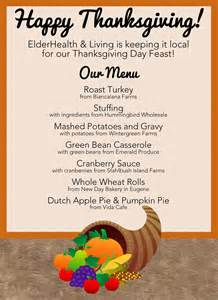 local thanksgiving menu 50 mile meal local healthy fresh
