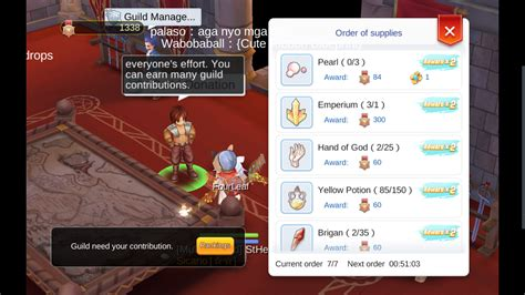 double rewards  guild donations  active  ragnarok