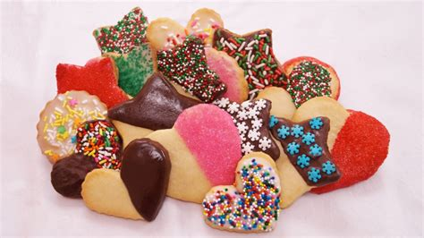 Decorated Shortbread Cookies shortbread cookies dishin with di cooking show