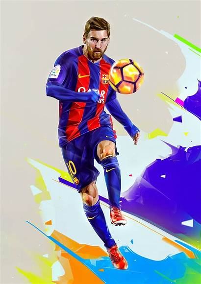 Football Action Players Illustration Denis Portraits Gonchar
