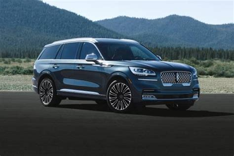 lincoln aviator prices reviews  pictures edmunds