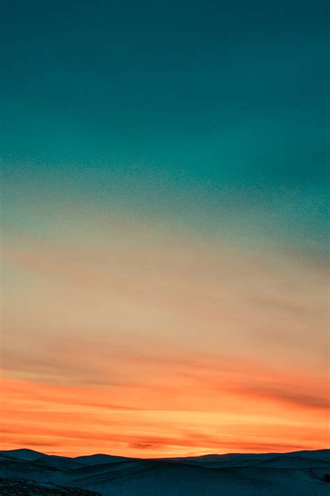 nx sunset mountain sky red nature wallpaper