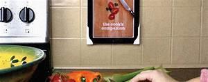 Günstige Alternative Zu Plexiglas : ipad an der wand zwei klebeecken als g nstige alternative zu vogels co ~ Whattoseeinmadrid.com Haus und Dekorationen