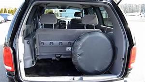 2000 Dodge Grand Caravan  Black - Stock  753331 - Trunk