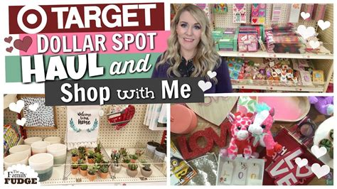 New Target Dollar Spot Haul + Shop With Me ♡ Valentine's