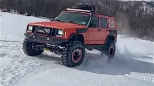 Jeep Cherokee Xj Orange