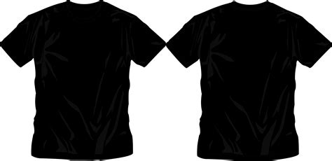 Tshirt Template Png by Black T Shirt Template Png Www Imgkid The Image