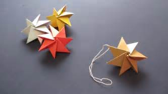 how to origami ornament christmas star クリスマスオーナメント youtube