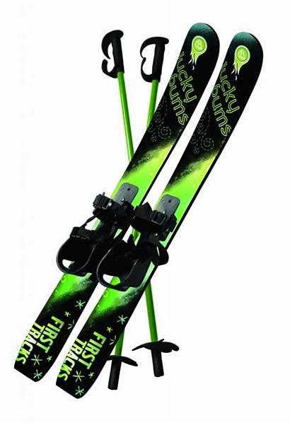 Skis Snow Poles Beginner Ski Equipment Lucky