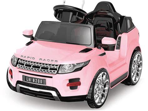 Kids Ride On Pink Jeep Evoque Style Suv