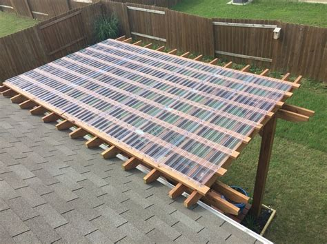 pergola with clear roof pergalo regn och