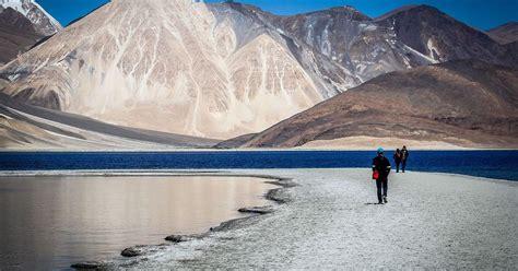 tourism  ladakh worsens water availability   cold