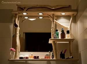 Meuble En Bois Flotté : meuble de salle de bain en bois flott caract re naturel par benoit galloudeccaract re naturel ~ Preciouscoupons.com Idées de Décoration