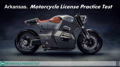 Arkansas Motorcycle License Practice Test Free