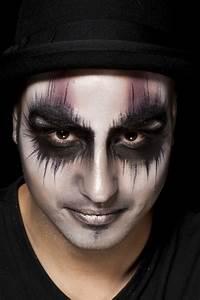 Schminke Auf Rechnung : die besten 25 ideen zu halloween gesichts make up auf pinterest kost m make up und horror make up ~ Themetempest.com Abrechnung