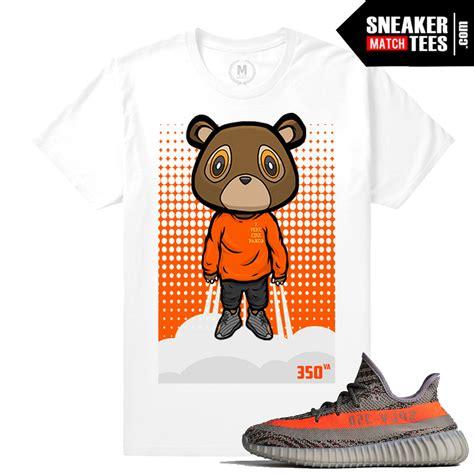 Yeezy 350 Va Boost T Shirt Yeezy Bear Sneaker Match Tees