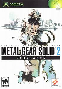 Metal Gear Solid 2: Substance for Xbox (2002) - MobyGames