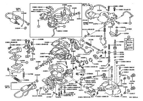 Carburetor For Toyota Tercel