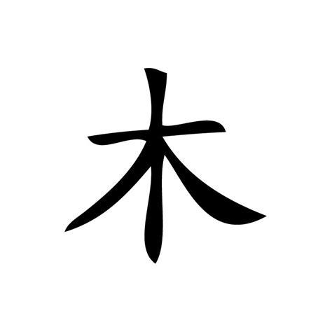 jeux de fille de cuisine de sticker d 39 un signe chinois représentant le bois