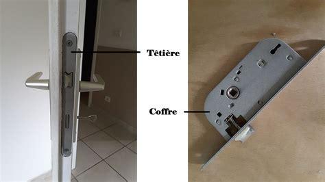 changer serrure porte chambre diy comment changer une serrure de porte