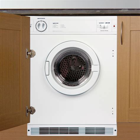 shed for tumble dryer cata tds60w white built in tumble dryer departments