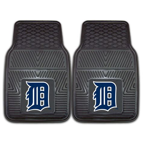floor mats vinyl detroit tigers 2pc vinyl floor mats 18 x 27