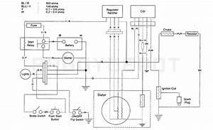 110 Cc Stator Cdi Wiring Diagram  Complete Electrics Full