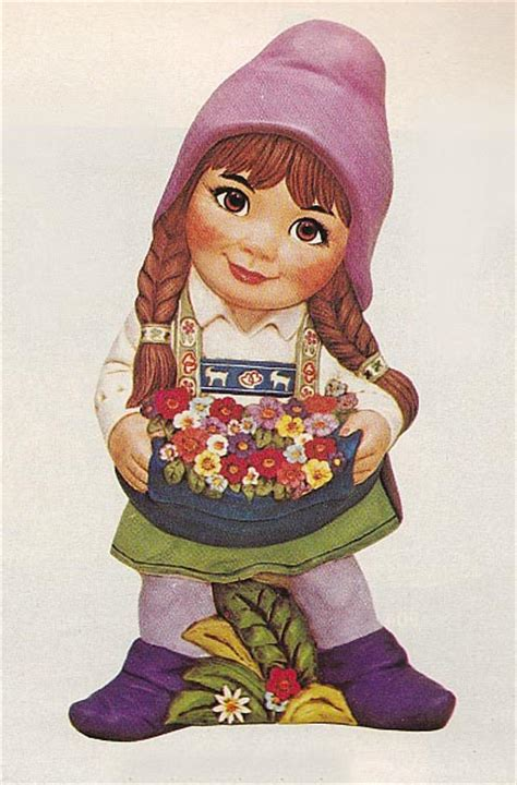 susie cute girl garden gnome unpainted ceramic sculptures