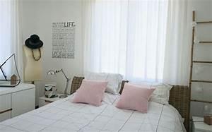 Lit En Osier : d co chambre diy t te de lit c t maison ~ Teatrodelosmanantiales.com Idées de Décoration