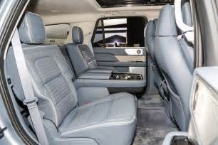 2018 Ford Expedition Rear-Seat Lincoln Navigator Interior