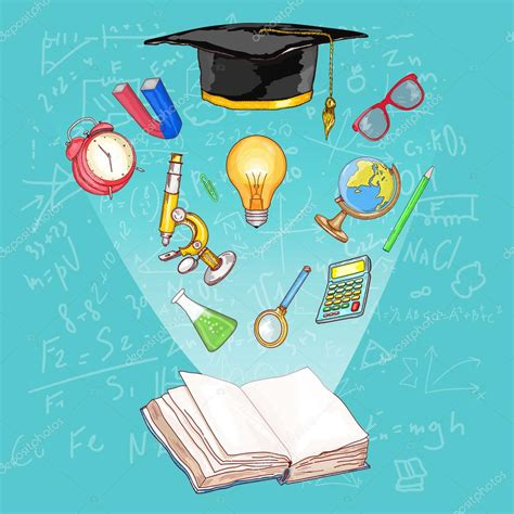 education open book knowledge education concept stock