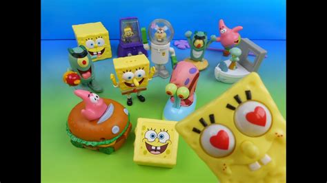2004 Spongebob Squarepants The Movie Set Of 12 Burger King