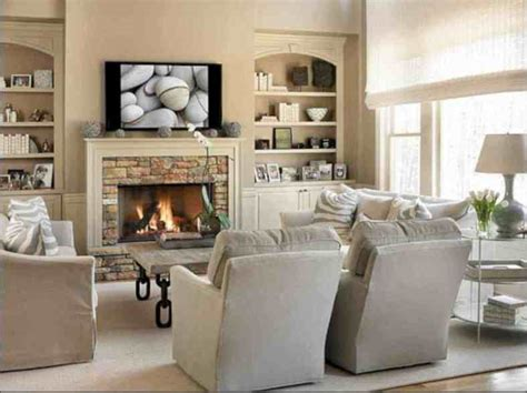 living room furniture layout ideas  fireplace