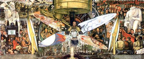 Diego Rivera Rockefeller Center Mural Controversy by At The Crossroads