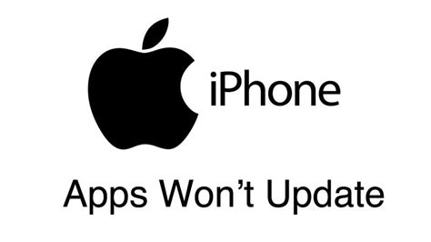apps won t update on iphone iphone apps won t update and how to fix it wirefly