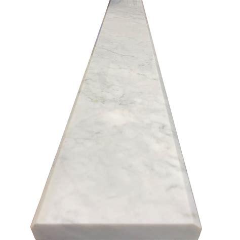 white threshold 5 x 36 threshold saddle carrara tile