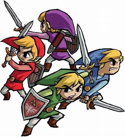Four Zelda Sword Swords Link Wikia