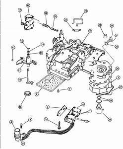 Dodge Dakota Lever  Valve Body Assembly  Manual Valve