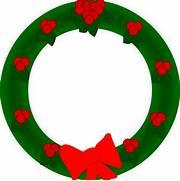 Christmas wreath vecto...