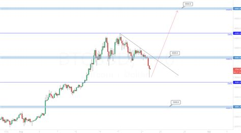 Price basics the bitcoin price is based off the cost of one whole bitcoin, similar to the way that shares in a company are priced in a share market. Bitcoin 5000.0 possible next target. for BITFINEX:BTCUSD by Mr-Iaco — TradingView