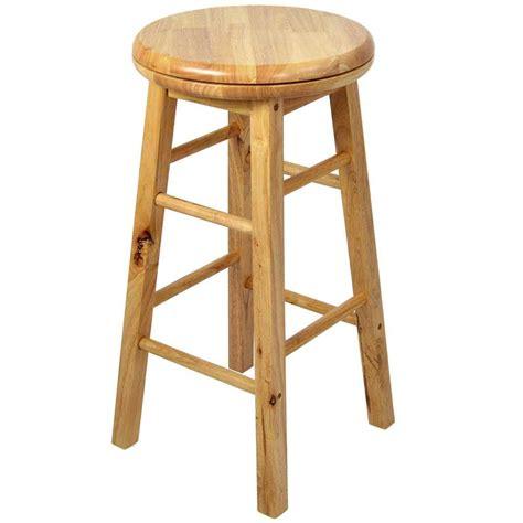 wood stools for wooden revolving stool light brown swivel bar pub chair 1605