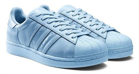 Adidas Supercolor, Light Blue, Pastel Sneakers