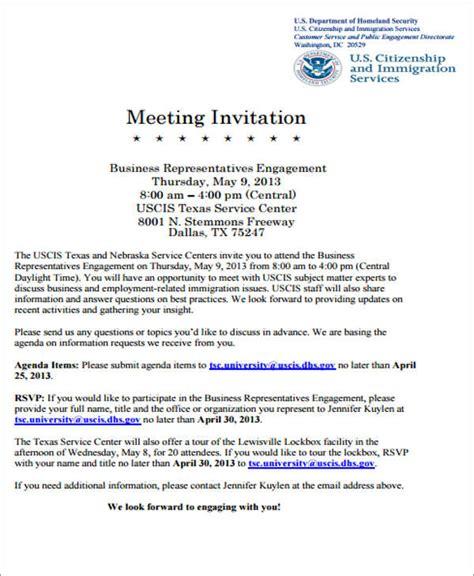meeting invitation template 60 meeting invitation templates free premium templates