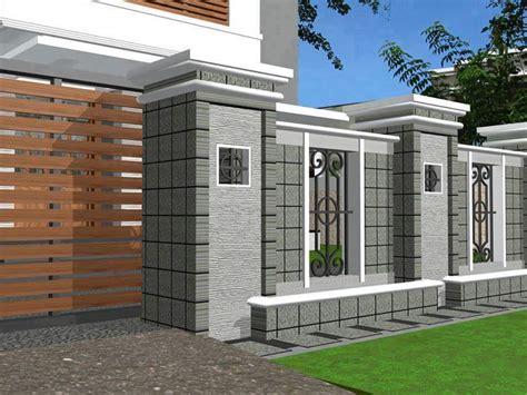 fence design minimalist home gallery  read  home design minimalist