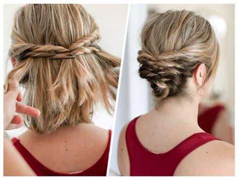 Easy Hairstyles for Short to Medium Length Hair Medium