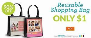 Only Shopping Bag : custom reusable shopping bag only 1 become a coupon queen ~ Watch28wear.com Haus und Dekorationen