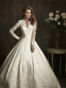 wedding gowns with sleeves sleeve wedding dresses dressed up