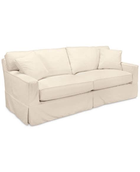 macys sofa covers shawnee 2 seat sofa with slipcover furniture macy 39 s